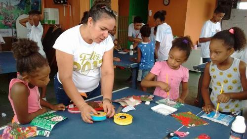 Dia das Mães Artes Manuais para o reforço escolar